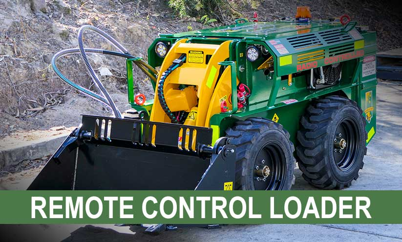 Kanga Loaders Remote Control Loader