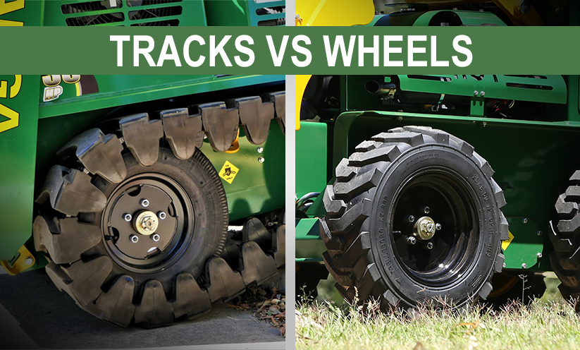 What is best – Compact Loader with Tracks or wheels?