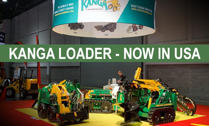 Kanga Loaders North America at the ARA Show 2020 in Orlando, Florida