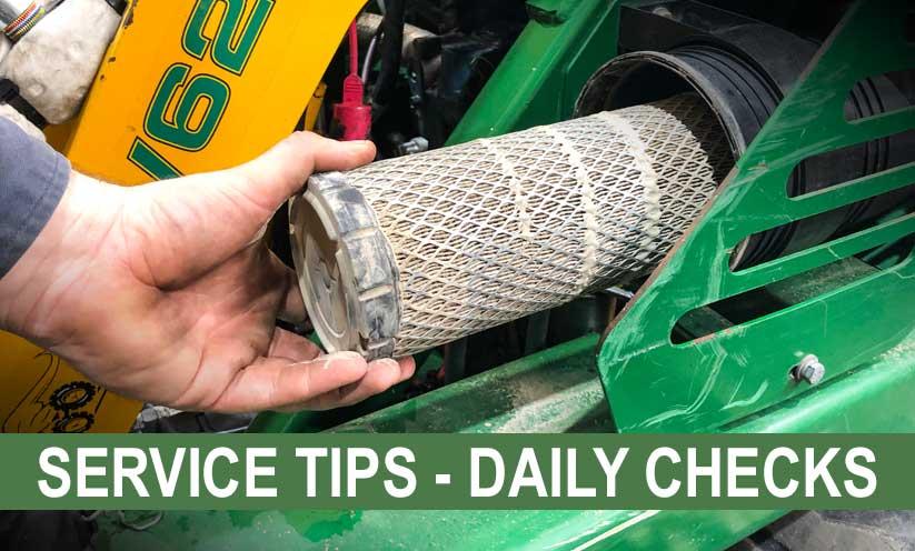 Daily Checks for your Kanga Loader