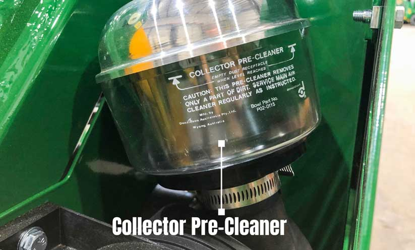 Kanga Loader Collector Pre-Cleaner for Air Filter