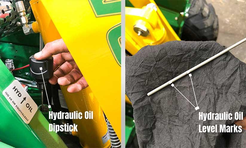 Kanga Loaders Hydraulic Oil Dipstick