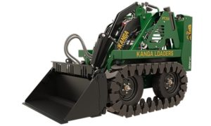 Kanga Loaders Gas Powered Compact Loader - Tracks