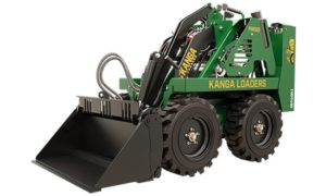 Kanga Loader Gas Powered Mini Loader - Wheeled