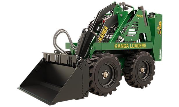Kanga Loader Gas Powered Mini Loader - Wheeled