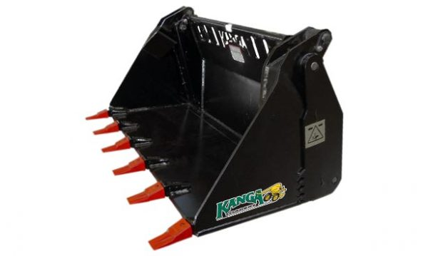 4in1 Heavy Duty Bucket for Compact Loaders