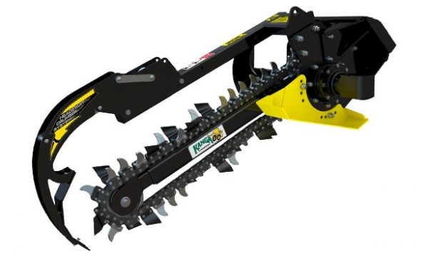 Kanga KT Trencher Attachment for Compact Loader
