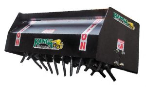 Kanga Loaders Lawn Aerator Attachment for Mini Loaders