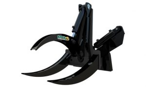 Kanga Loaders Rotating Log Grab Attachment for Mini Loader