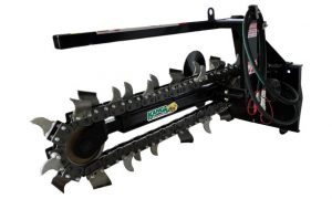 Kanga Loaders Trencher Attachment for Compact Utility Mini Loaders