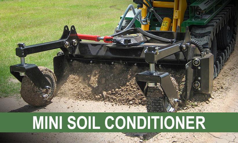 Mini Soil Conditioner Attachment for Kanga Loaders